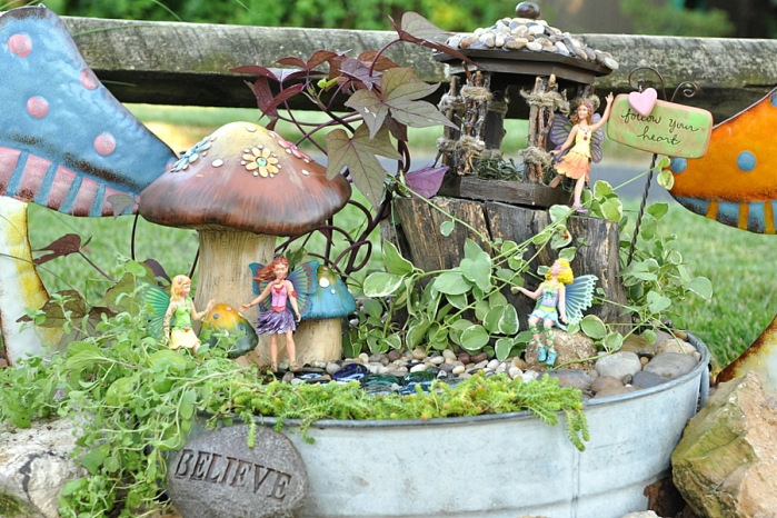 Diy Fairy Garden Life In A Flash